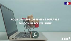 Pour un développement durable de l'e-commerce